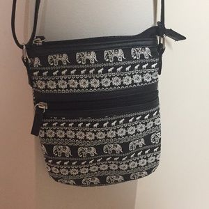 Claire's elephant purse
